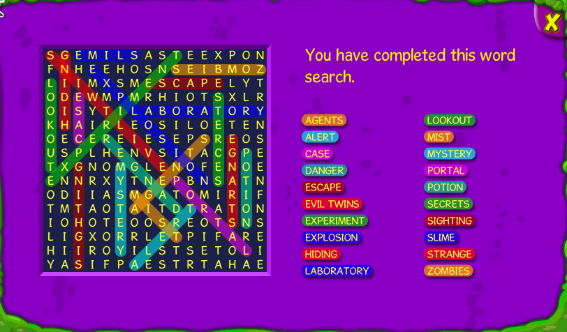 Crossword/Wordsearch Answers | Weevily City