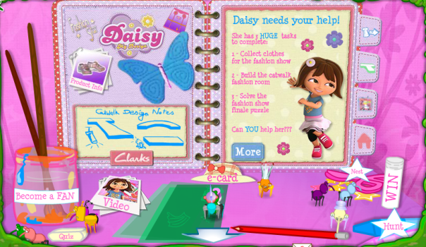 Daisy Inside