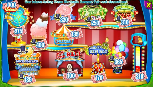 Summer Fair Prize Booth.