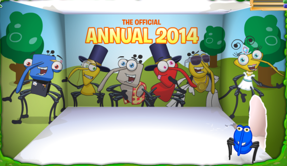 Bin Weevils Official Annual 2014 Code