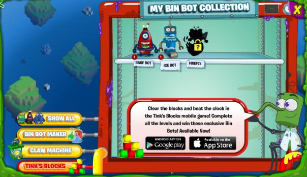 tinks blocks bot