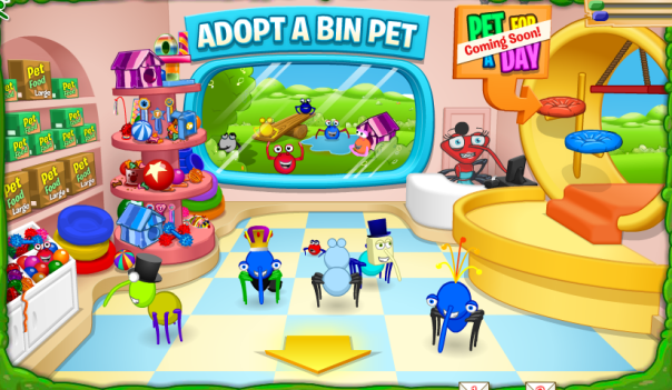 Bin Pet Shop Updat