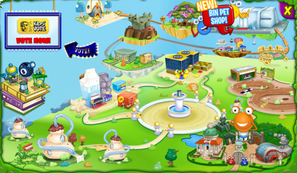 Bin Weevils Updated Map