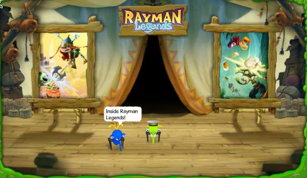 Inside Rayman Legends
