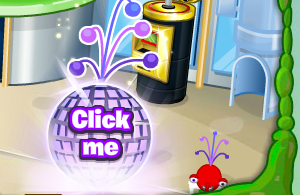 Press the 'Click me' to claim your purple super antenna
