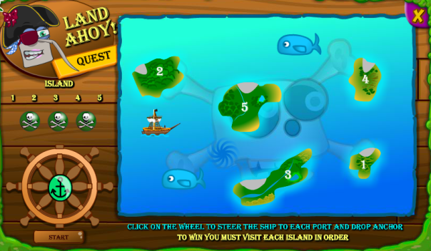 land ahoy game