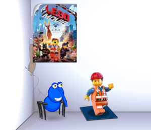 Here's our blog weevil, Cooly22 with the nest item and fan poster that you can get!