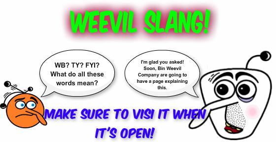 weevil slang