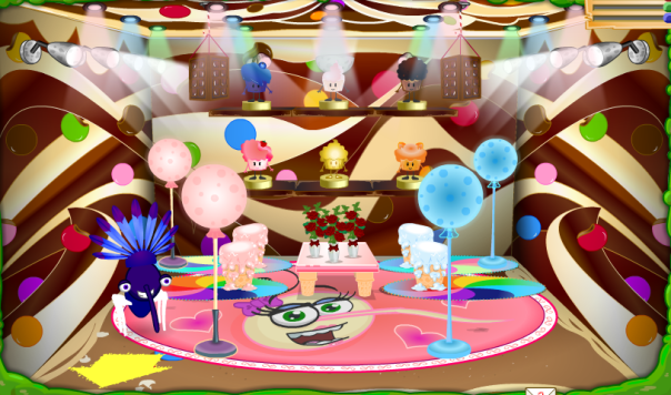 new sweet themed room