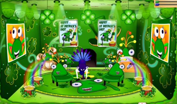 St. Patrick's Day Nest Room