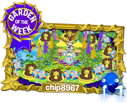Chip8967 - Garden of The Week