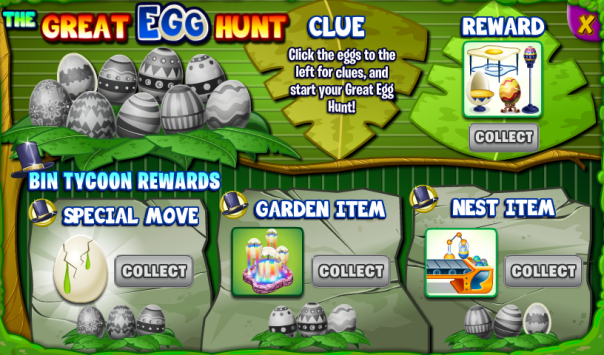 Great Egg Hunt Board