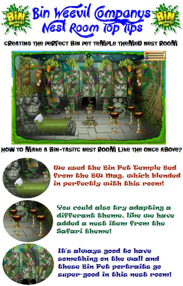 Top Tips - Bin Pet Temple