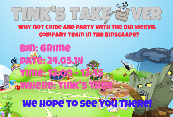 tinks takeover party details