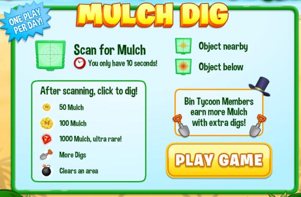 Mulch Dig Screen