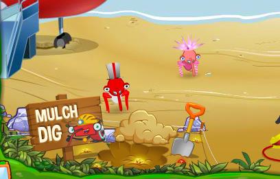 Mulch Island - Mulch Dig