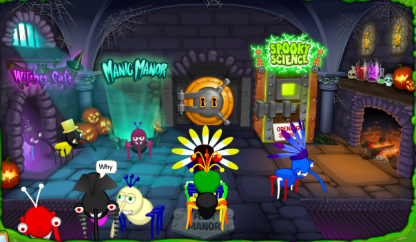 Bin Weevils Halloween Party 2014