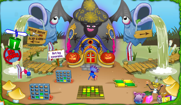 New Dosh's Palace Halloween Themed Design
