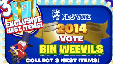 Vote Bin Weevils