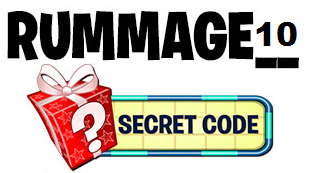 If you're unable to view this image, the answer is RUMMAGE10.
